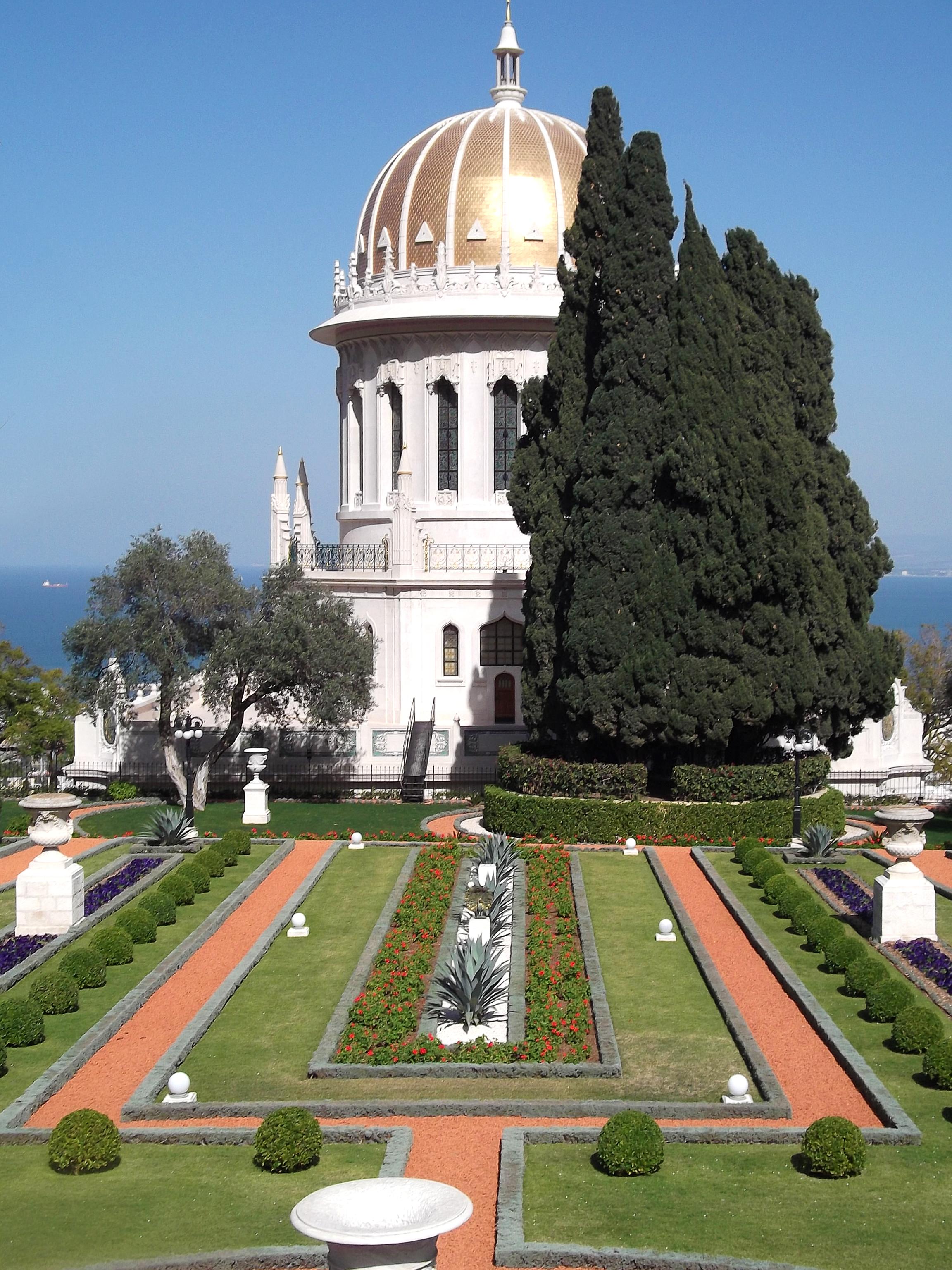 Bahai gardens tour garden ftempo for Dmv garden city idaho