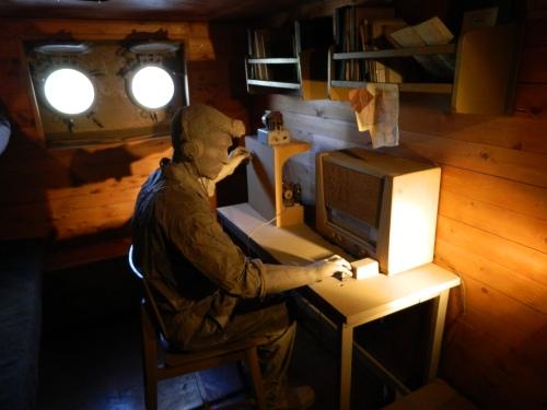 Communications room on the ''Galina''