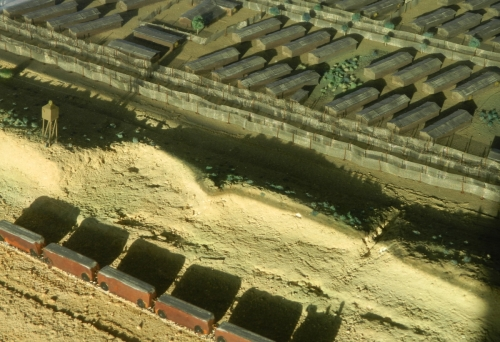 Model of the camp