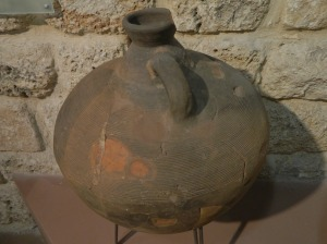 Old ceramic piece from Castra