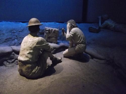 ''Palmach members in battle''