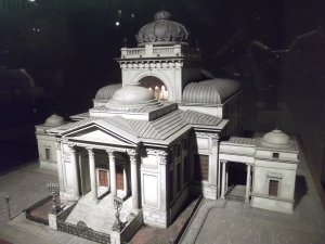 Superb synagogue model