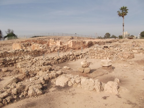Tel Qasile excavations