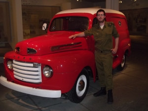 The old postal truck and I