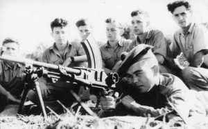 The Palmach in training