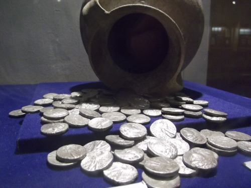 Tyrian shekels from the Ussfiyeh hoard