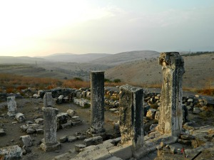 Ancient synagogue at Arbel