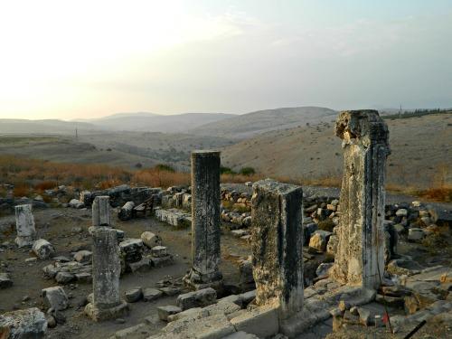 Ancient synagogue at Arbel