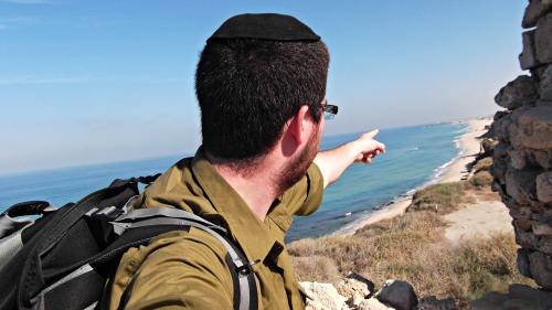 At Ashkelon National Park
