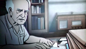 Animated David Ben Gurion