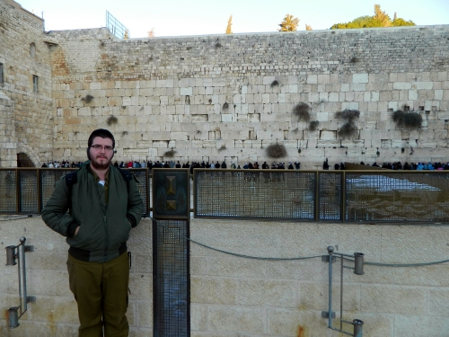 Cold at the Kotel