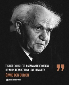 David Ben Gurion and quote