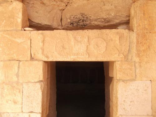Roman burial cave