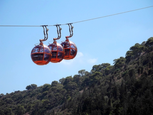 Haifa cable-car