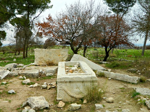Roman mausoleum ruins