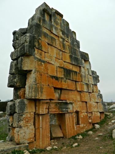 Roman temple wall