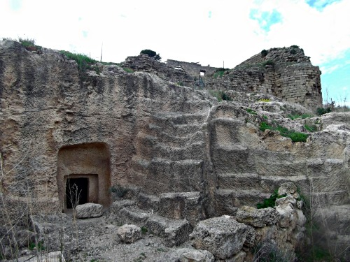 A burial cave