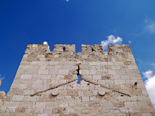 Jaffa Gate wall