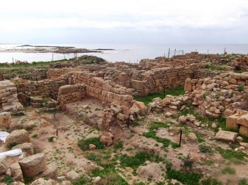 Tel Dor ruins