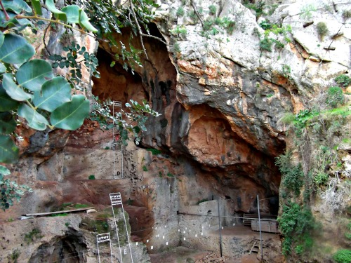 The tall Tanur Cave