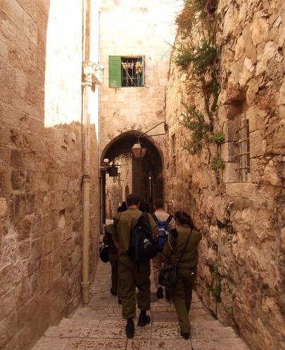 Walking through the Armenian Quarter