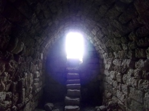 Within another arched chamber