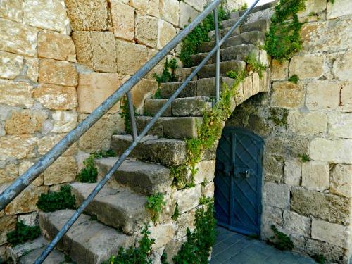 Interesting little fortress door