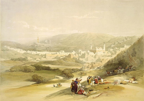Hebron in 1839