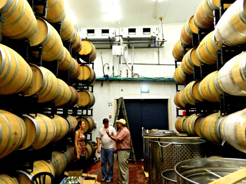 Jezreel Valley's barrel room