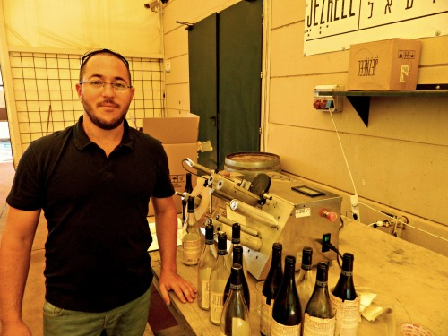 Yehuda Nahar (co-founder) at the labeler