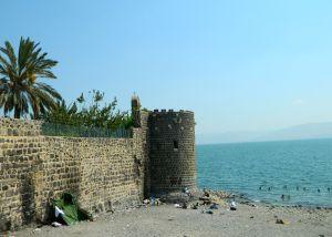 Tiberias' Leaning Tower