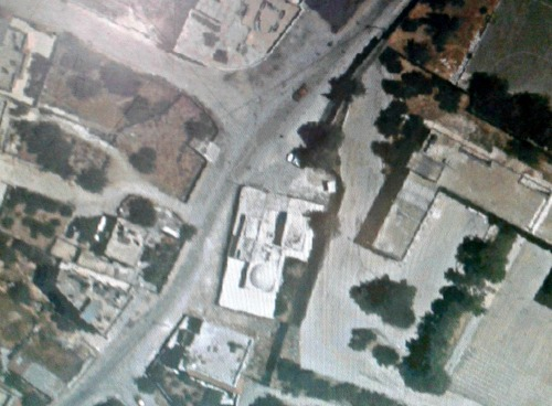 Aerial view of Kever Yosef