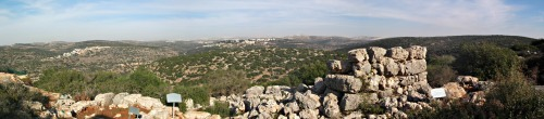 Panoramic view from Mitzpe Oded