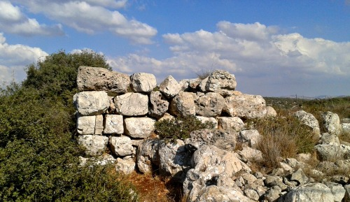 Ruins outside Yakir Outpost