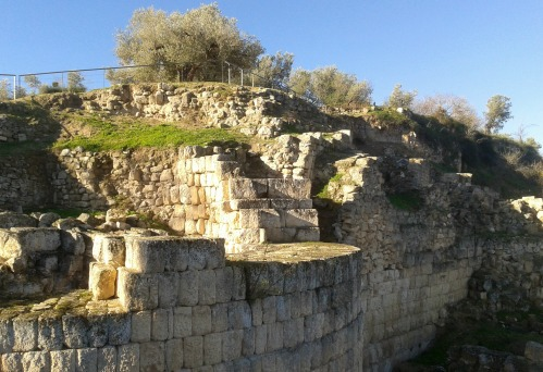 Fortress walls and Hellenistic tower