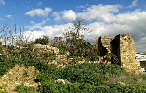 Ruins in Netanya