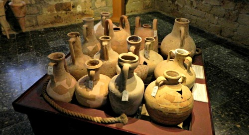 Collection of Mediterranean pottery