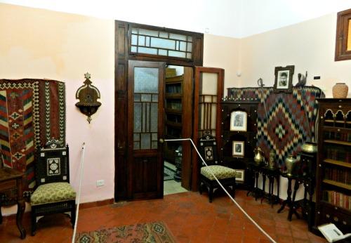 Inside the Aaronsohn House