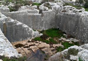 An ancient wine vat