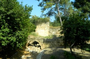Ancient flour mill