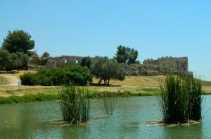Binar Bashi fortress at Tel Afeq
