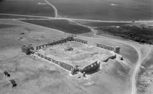 Binar Bashi seen from the air in the early 1930's (photo: Library of Congress)