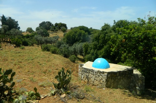 Kever of R' Yishmael on the banks of the stream
