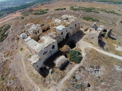 Migdal Afeq from above (photo: Biblewalks)