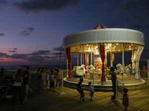 Carousel at dusk