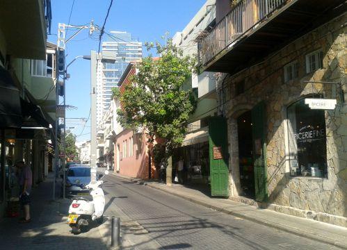 Neve Tzedek street scene