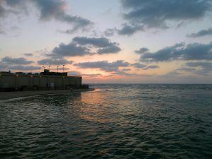Sunset at Tel Aviv Port
