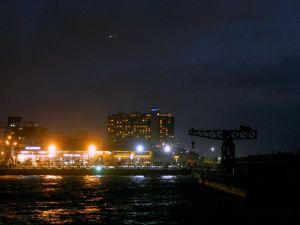 Tel Aviv Port at night