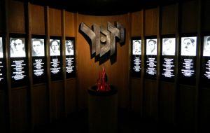 Memorial to the fallen Etzel members