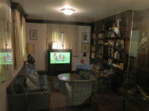 Rabin's living room